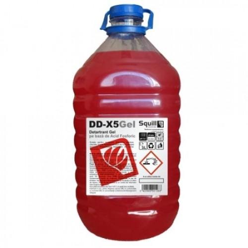 Detartrant gel pe baza de acid fosforic 5 litri