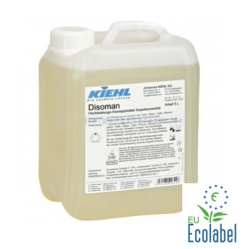 Disoman 5 litri  Detergent Eco de performanţă pentru veselă superconcentrat