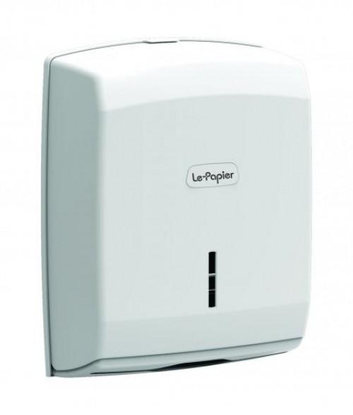Dispenser prosoape pliate plastic alb ABS