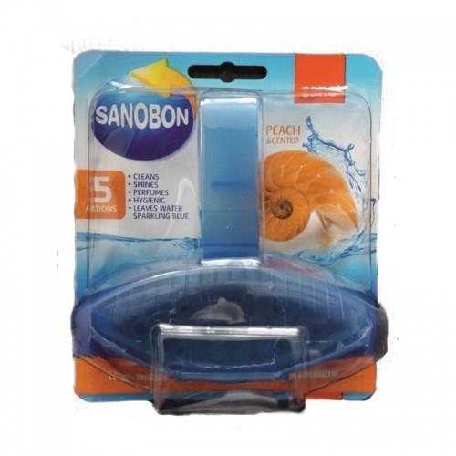 Odorizant vas WC Sano bon blue peach