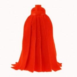 Rezerva mop din microfibra culoare rosie