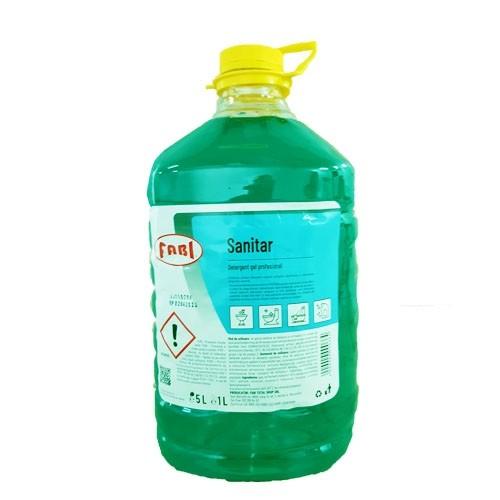 Sanitar Detergent gel profesional dezinfectant 5 litri
