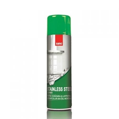 Solutie pentru suprafete inox Sano Stainless Steel Cleaner 500 ml