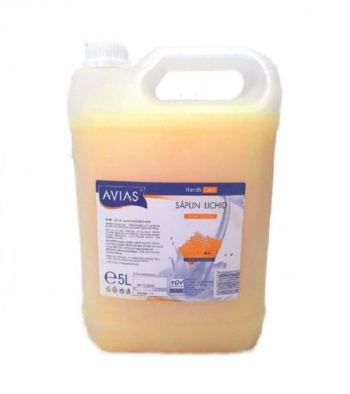 Sapun lichid cu aroma de miere Avias 5 litri