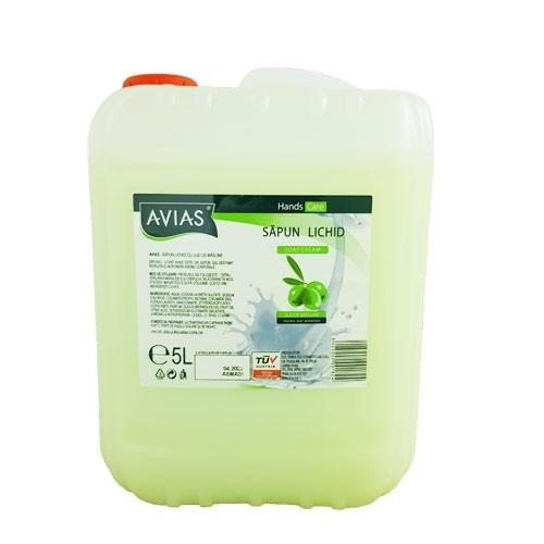 Sapun lichid cu ulei de masline Avias 5 litri