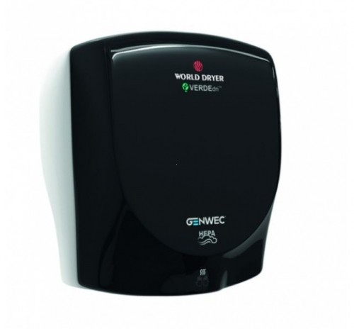 Uscator de maini VERDEdri World Dryer Black