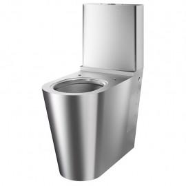 Vas WC cu rezervor - din inox bacteriostatic pentru persoane cu dizabilitati.